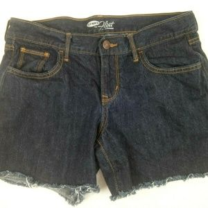 Old Navy The Flirt Cutoff Shorts Wom 6 Blue Denim